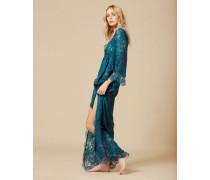 Mirrabella Long Kimono Green