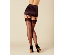 Lazulie Vintage Stocking In Black