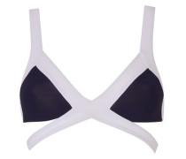 Mazzy Bikini Top Bandage Style In Black And White