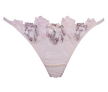 Eliza Thong Pink And Ivory
