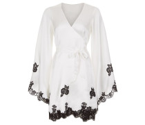 Gulia Kimono Ivory/Black