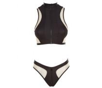 Marlene Bikini Top Black And Nude