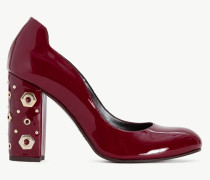 Twinset Pumps Aus Lackleder