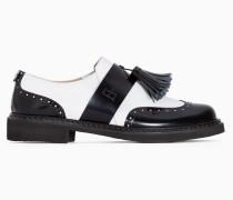 Twinset Zweifarbiger Maskuliner Schuh