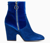 Twinset Ankle-Boot Aus Samt