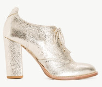 Twinset Metallic-Ankle-Boot