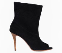 Twinset Ankle-Boots Mit Offener Spitze
