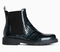 Twinset Chelsea Boot Mit Krokoprint