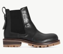 Twinset Chelsea-Boot Aus Leder