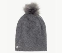 Mütze Aus Gewalkter Wolle