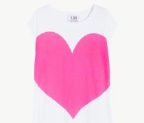Maxi-T-Shirt Mit Herz