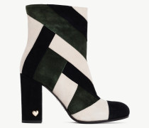 Twinset Ankle-Boot Mit Colour-Blocking