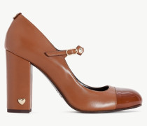 Twinset Pumps Aus Leder