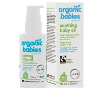 Organic Babies No Scent Baby Oil 100ml