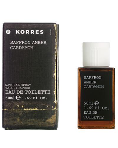 Saffron, Amber & Cardamom Eau De Toilette Spray 50ml