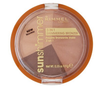 Sunshimmer 3 in 1 Shimmering Bronzing Powder - Bronze Goddess 9.9g