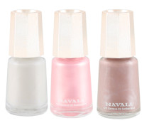 Nail Colour Trio - Barely There: Via Veneto, Rose & Geneve
