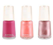 Traditional Nail Colour Trio - Honolulu, Samoa & Feminine