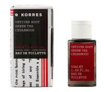 Vetiver Root, Green Tea & Cedarwood Eau De Toilette Spray 50ml