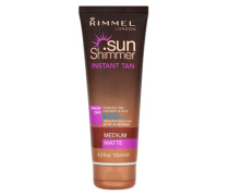 Water Resistant Instant Tan - Medium Matte 125ml