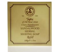 Sandalwood Herbal Shaving Soap Refill 100g