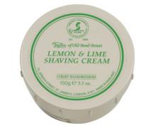 Lemon & Lime Shaving Cream Bowl 150g