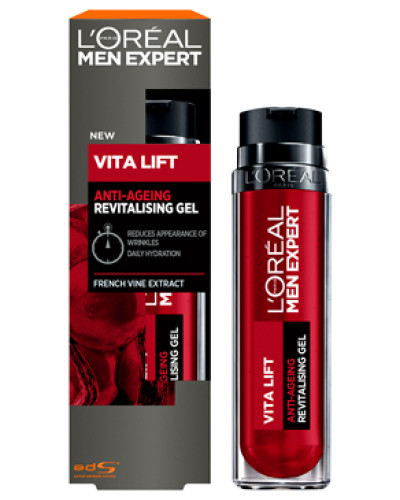 Men Expert Vita Lift Anti-Wrinkle Gel Moisturiser 50ml
