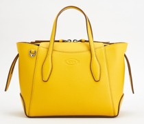 Mini Shopping Bag aus Leder