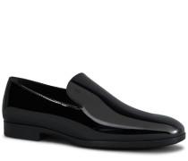 Slippers aus Lackleder