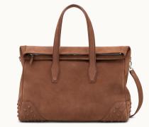Travel Bag Medium aus Veloursleder