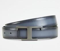 Wendbarer Gürtel aus Leder