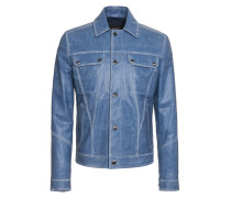 City Jacket aus Leder