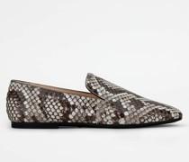 Loafer aus Pythonleder