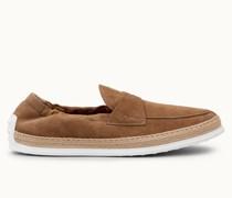 Loafer aus Veloursleder