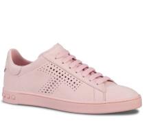 Sneakers aus Nubukleder