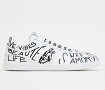 Tabs Sneakers aus Leder