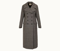 Zweireihiger Mantel