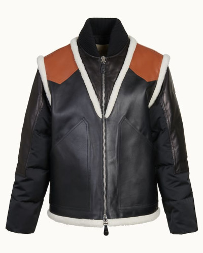 Jacke aus Leder und Radzimir