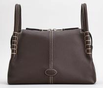 Kleine Handtasche aus Leder
