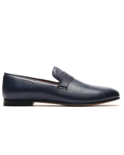 Marineblaue Loafers Foot Glove