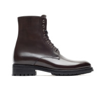 Braune Military Boots