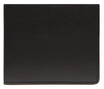 Schmale schwarze Brieftasche