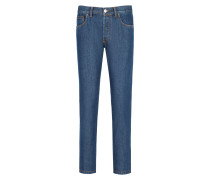Blaue Slimfit-Jeans Aneto
