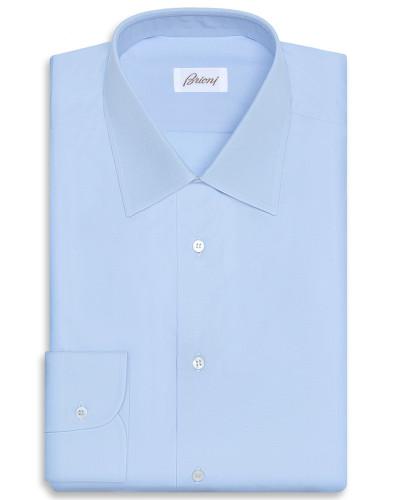 Schmal geschnittenes, formelles Hemd in Hellblau