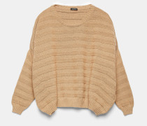 Pullover aus regenerierter Baumwolle
