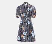 Blusenkleid aus gabardine