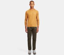 Kleidungsgefärbter Pullover aus superfeiner reiner Baumwolle
