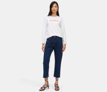 Ausgewaschene Denim-Jeans