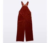 Baumwoll- und Cord Jumpsuit