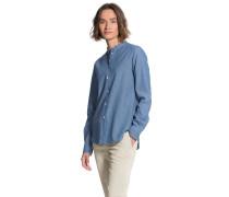 Poplin Cotton Shirt Corean Collar